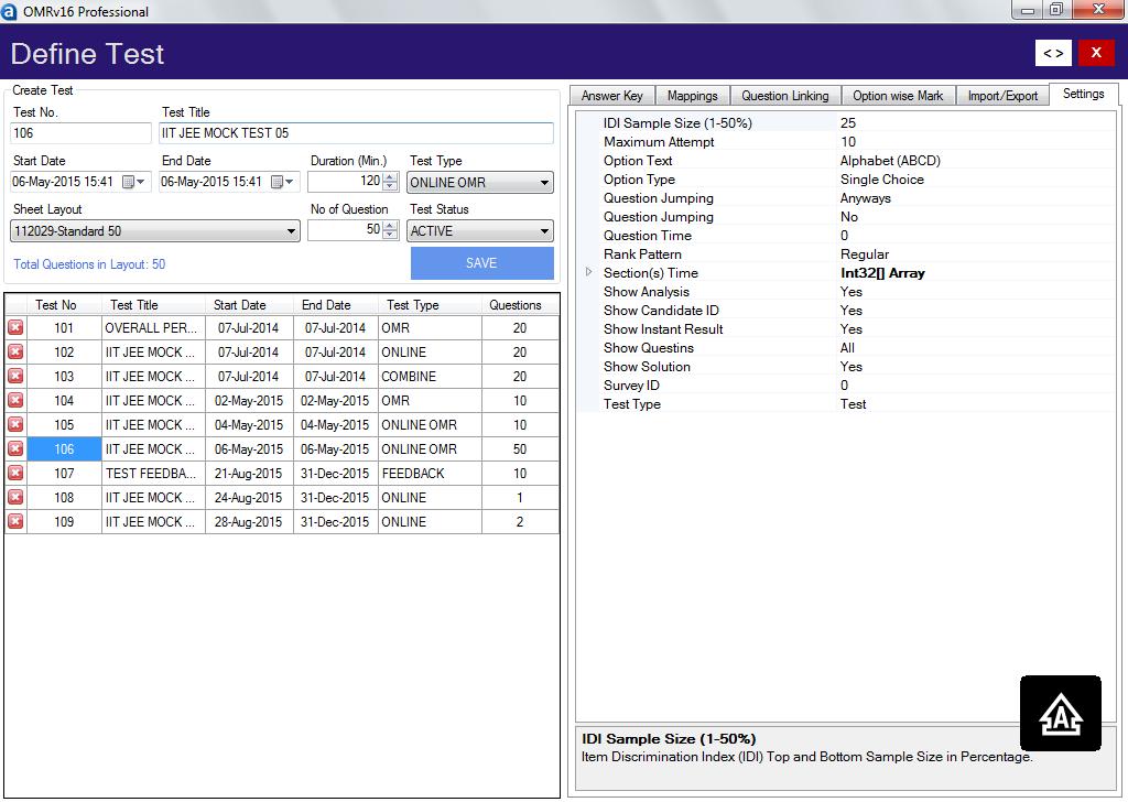 Online Test Creation Software | Online MCQ Exam Builder Software
