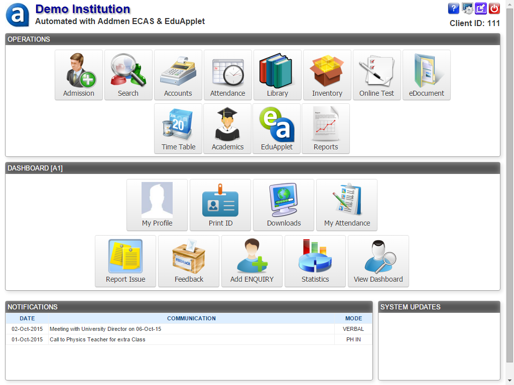 College Campus Automation Management Software